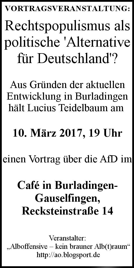 AO-Anzeige Burladingen
