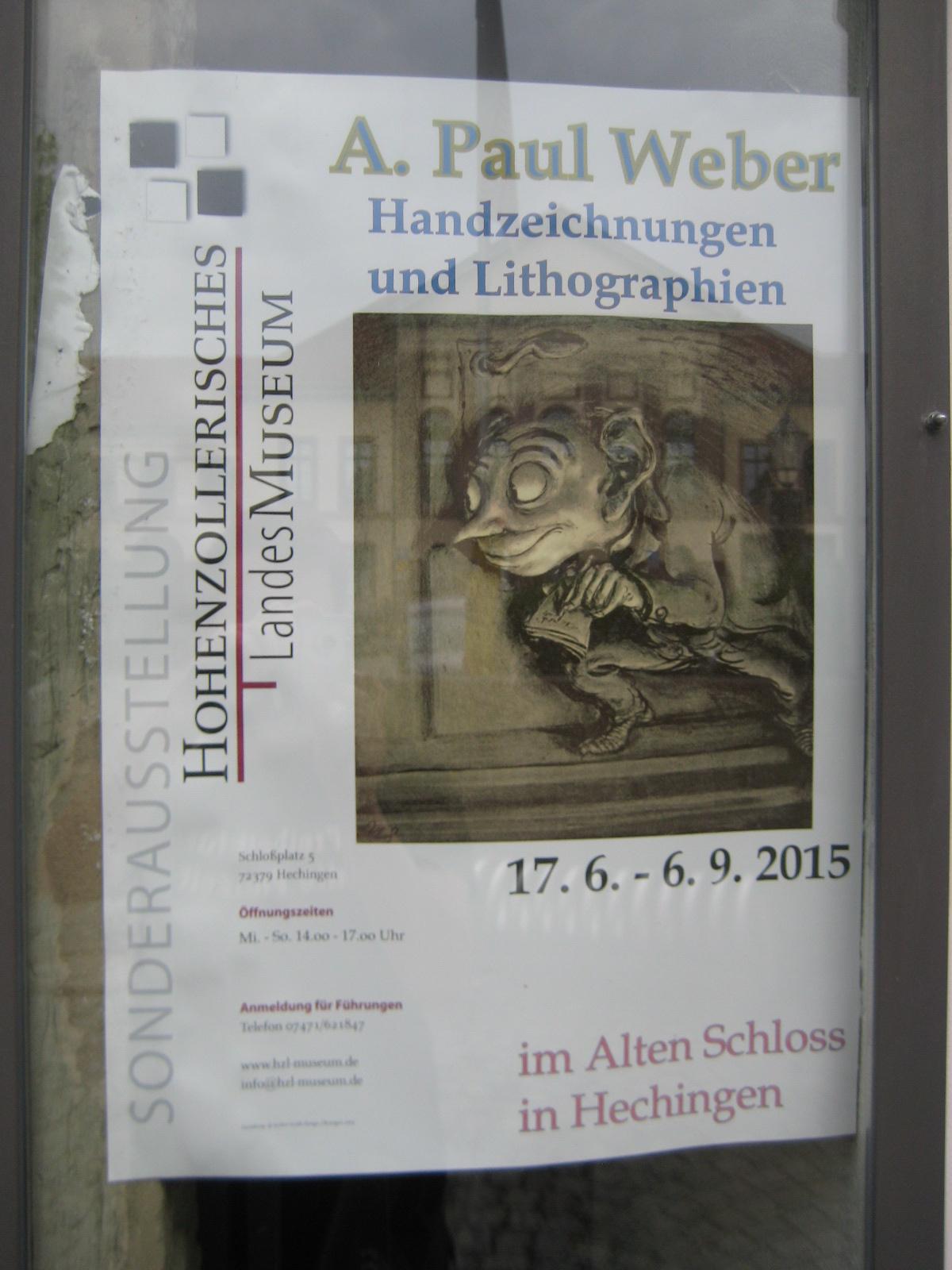 Paul-Weber-Ausstellung in Hechingen